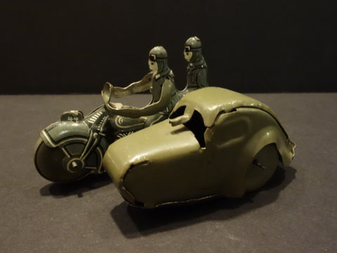 SAALHEIMER & STRAUSS Military Motorcycle Sidecar 1930