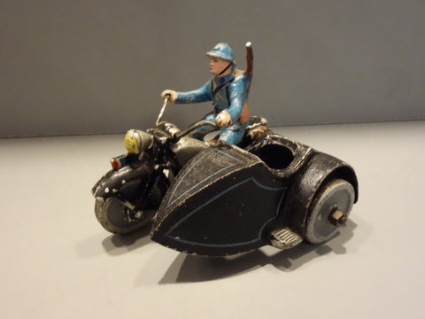 QUIRALU MOTORCYCLE with side car 1938