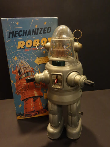 OTTI  ROBBY BARE METAL Mechanized Robot MIB