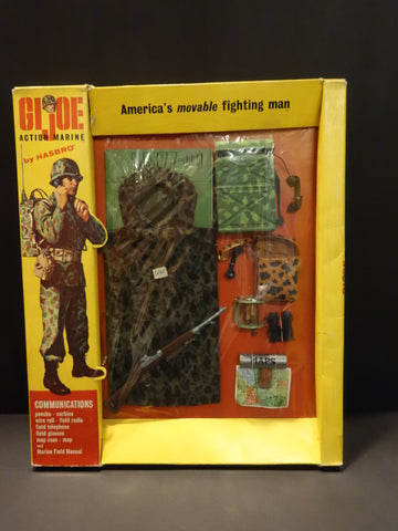 HASBRO GI-JOE Action Marine Communications SET 7701 NRFB 1964