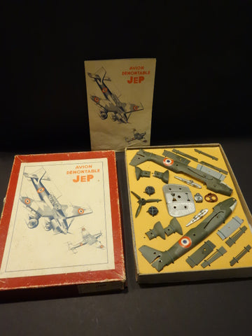 JEP Stuka DUX Construction Airplane , never removed from box 1946