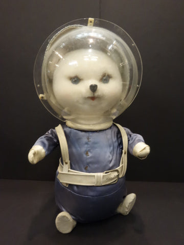 LARGE ASTRONAUT ANIMAL with SPACE SUIT Shop display 1950