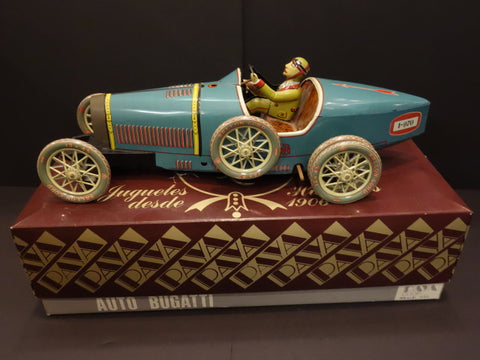 PAYA BUGATTI Double Rear wheels + Box Spain 1986 Only 10 ever made