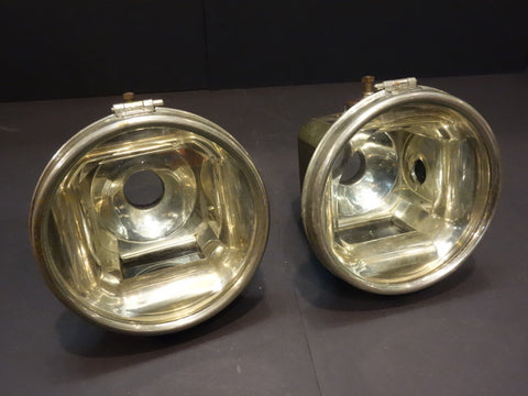 AUTOMOBILE Headlights Headlamps circa 1895-1900