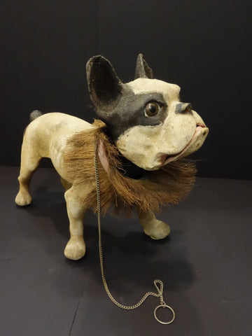 FRENCH BULLDOG with growler 1950
