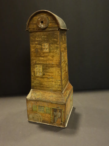 HUNTLEY PALMERS WINDMILL Biscuit tin Box 1920
