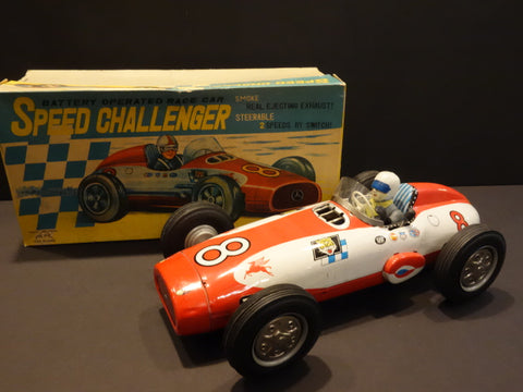 ALPS SPEED CHALLENGER MERCEDES Racing car + original box 1955