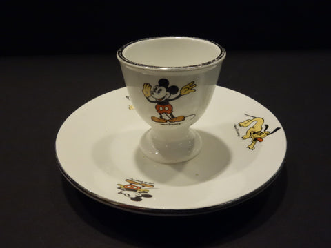 ONNAING Mickey Mouse Eggcup Walt Disney France 1930