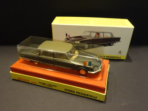 DINKY TOYS 1435 Citroen DS Presidentielle Chapron France 1972 MIB