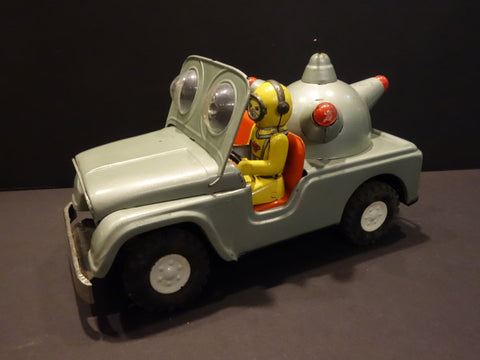 DAIYA Martian Super Sensitive Radar Patrol Jeep 1950