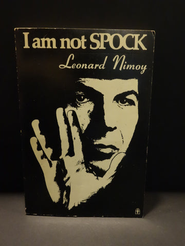 STAR TREK LEONARD NIMOY signed I AM NOT SPOCK 1976 Logically