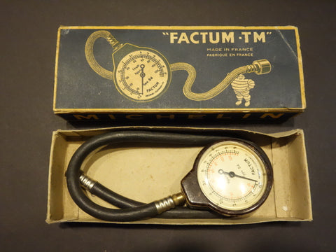 MICHELIN FACTUM-TM Tyre pressure gauge + Box 1930