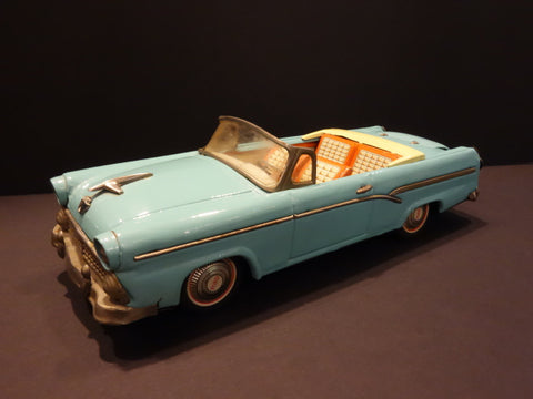 BANDAI FORD FAIRLANE 500 Sunliner 1956 Blue Convertible