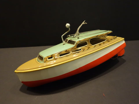 MARUSAN King Boat  working + original key 1950