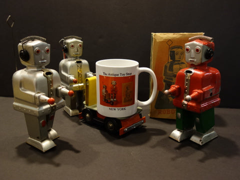 MUG STRENCO Robots The Antique Toy Shop New York