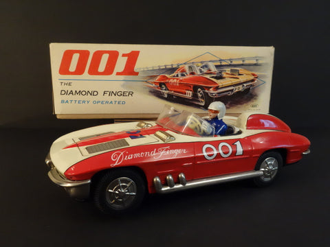 ICHIDA DIAMOND FINGER 001 Chevrolet Corvette + Original Box