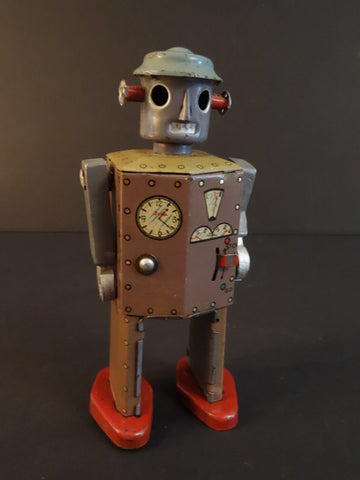 CK ATOMIC ROBOT MAN Cast arms 1947
