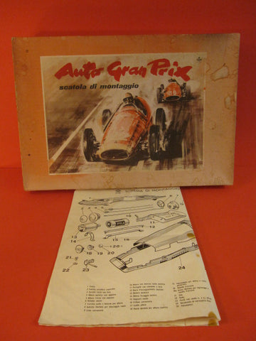 BRAL FERRARI 500 Box only + instructions 1952