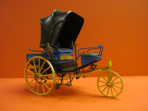 ANTONIETTI BENZ Tricycle 1888 1/12° Art Collection 1960