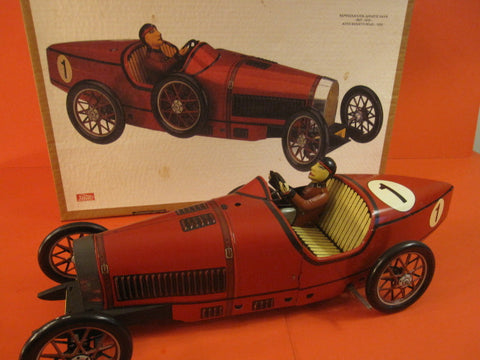 PAYA Bugatti RED + Box Made in Spain 1989