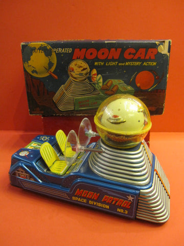 NOMURA Moon Car Space Division 3 + Original box 1955