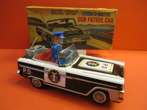 NOMURA Chevrolet Police Car Mint +box 1966