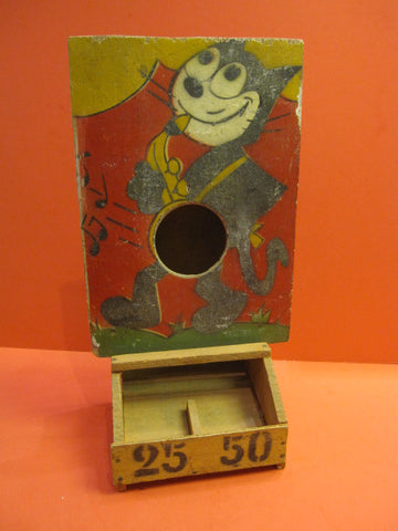 FELIX the Cat Dexterity Wooden Game France 1930