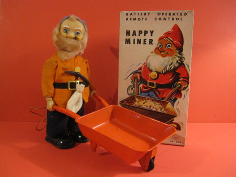ASAHI Happy Miner Dwarf Battery Operated + Original Box Work