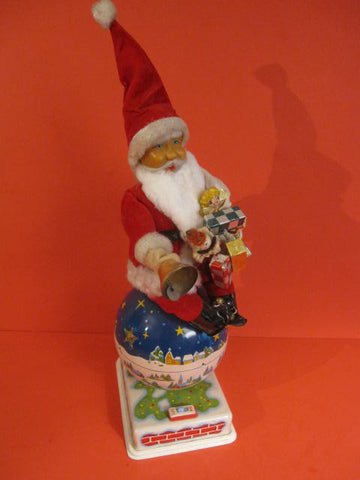 HTC Santa Claus on Rotating Globe 1960