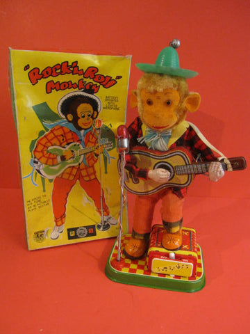 ALPS Rock n Roll Monkey  + Original Box 1960