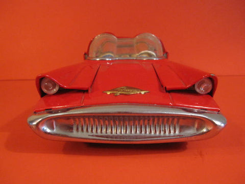 Alps Lincoln Futura Batt Op With Lights 1956 The Antique Toy Shop