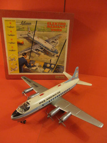 SCHUCO Pan American Airplane Radiant 5600 1960