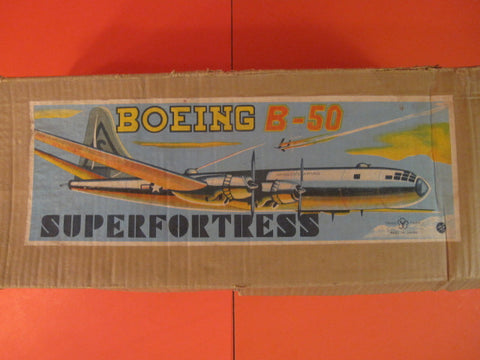 YONEZAWA Airplane Boeing B50 Superfortress Original box only 1950
