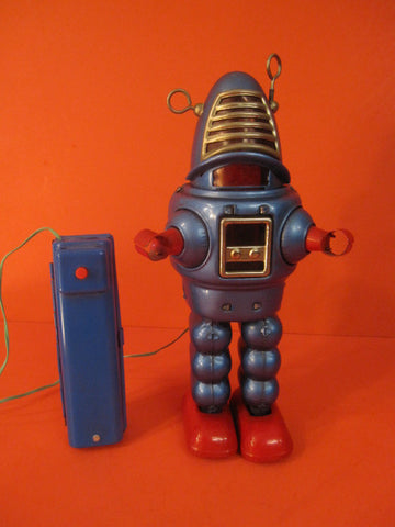 YOSHIYA Blue Robby Planet Robot Battery operated 1962