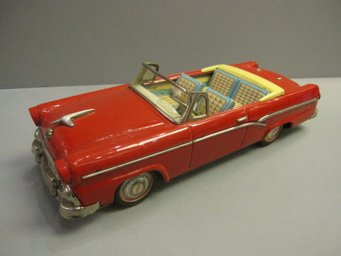 BANDAI FORD FAIRLANE 500 Sunliner Red 1956 Convertible