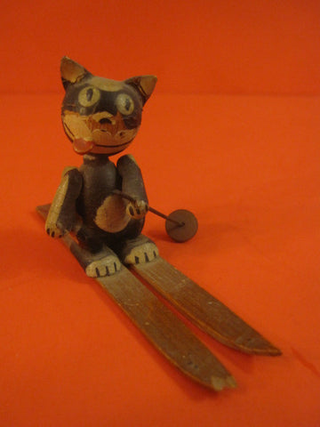 FELIX the Cat Wooden miniature Germany 1920