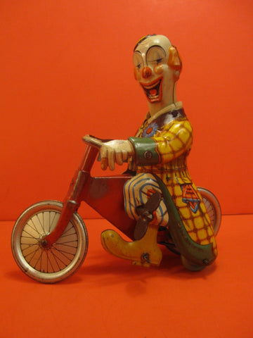 TECHNOFIX Merry Clown on Cycle 1950