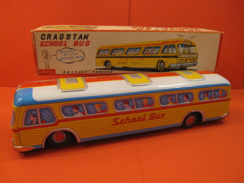 CRAGSTAN Giant School Bus 1960 MIB