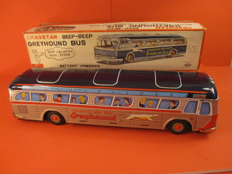 CRAGSTAN GREYHOUND Giant Bus 1960 MIB