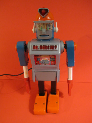 YONEZAWA Mr MERCURY Robot Battery Operated 1961