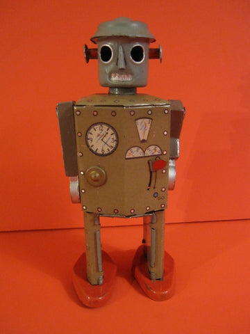 CK ATOMIC ROBOT MAN with cast arms 1947