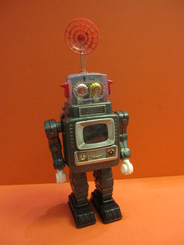 ALPS TELEVISION SPACEMAN Robot 1966