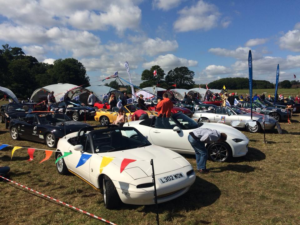 Hamilton Classic wish the Mazda MX5 Owners Club a Happy 21st Anniversary!