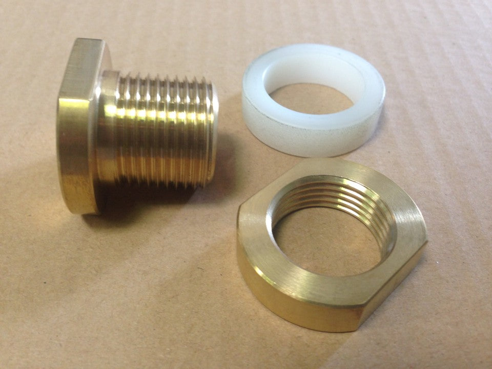 TR7 brass steering column bulkhead bush – no more wear, no more play.