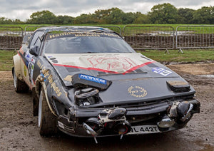 Crowdfunding scheme launched to save crashed Triumph TR7V8 rally car