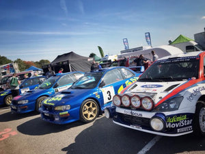 Rally day at Castle Combe