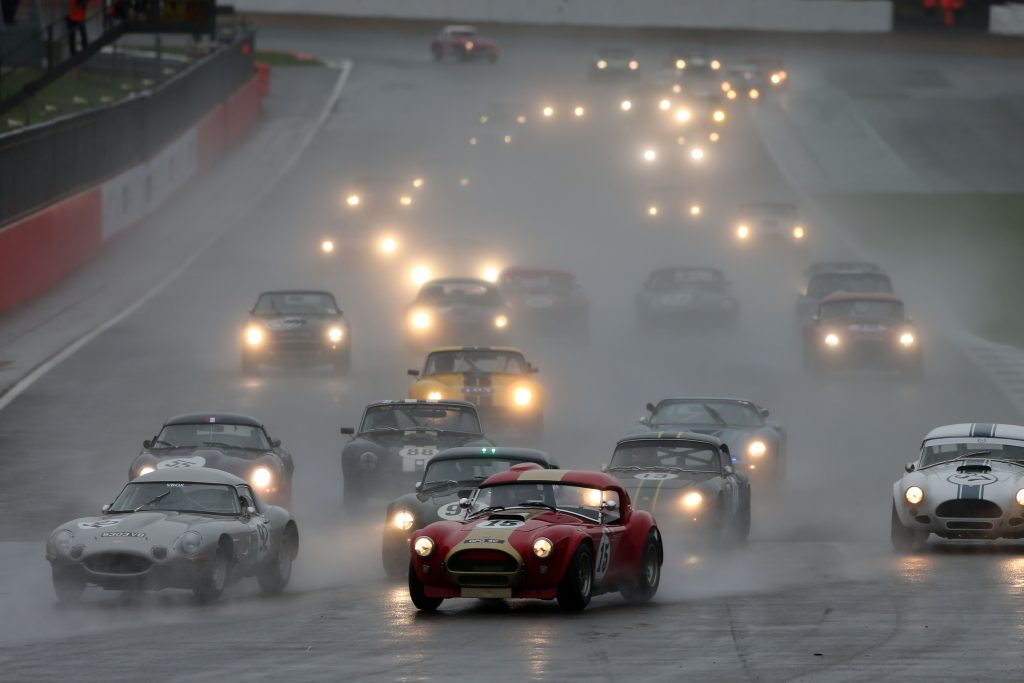 Silverstone Classic 2017 – A mix of cars in mixed weather made for exciting motorsport!