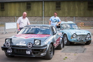 Alastair Flack from Hamilton Classic raises money for Devon Air Ambulance with rally rides