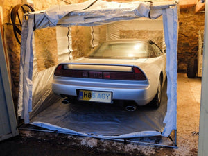 A Honda NSX rebuild uses one of our Cair-o-Ports