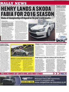 Motorsport News covers our TR7V8 circuits rally entry at Brands Hatch